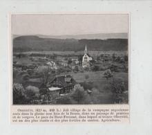 Oberruti Prairies Vergers Agriculture Circa 1910 - Zonder Classificatie