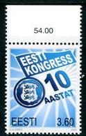 ESTONIA 2000 Inauguration Of Estonian Congress  MNH / **..  Michel 367 - Estonia