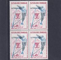 1er CHAMPIONNAT D'EUROPE D'ATHLETISME, N°1650, Bloc De 4, Neufs, Belle Gomme - Nuevos