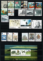 Denmark 2000-2018;  Small Collection Complete Set And Souvenir Sheets;  MNH (**) - Collezioni