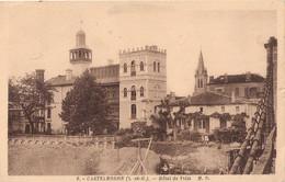 47 . Castelmoron . 2 CPA . VG . Hôtel . - Castelmoron