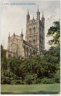 GLOUCESTER Cathedral, ENGLAND - C. 4345  -  PU 1915 - S. Africa - Gloucester