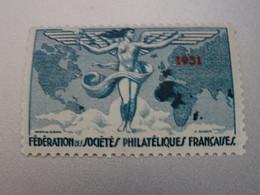 SOCIETE PHILATELIQUE  FRANCAISE  1931  NEUF** - Exposiciones Filatelicas