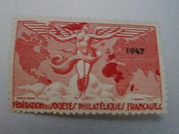 SOCIETE PHILATELIQUE  FRANCAISE  1947  NEUF* - Exposiciones Filatelicas