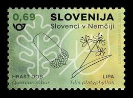 Slovenia 2020 Mih. 1459 Slovenes In Germany. Flora. Leafs MNH ** - Slovenië