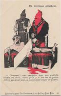""""""" Un Hérétique Grincheux """" -- Caricature Satirique ,anti Cléricale - Collection  Journal """" Les Corbeaux """" - Satirische"""