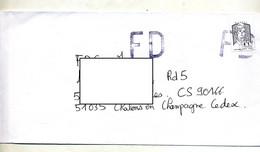Lettre Cachet Annulation ! FD - Manual Postmarks