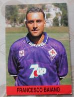 Francesco Baiano # Fiorentina # Calcio - Cartoncino / Sponsor 7UP - Voetbal