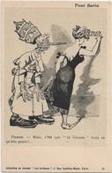 """""""Pour Sarto """" -- Caricature Satirique ,anti Cléricale - Collection  Journal """" Les Corbeaux """" - Satirische"""