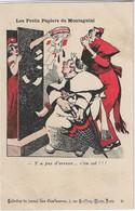 """""""Les Petits Papiers De Montagnini """" -- Caricature Satirique ,anti Cléricale - Collection  Journal """" Les Corbeaux """" - Satirische"""
