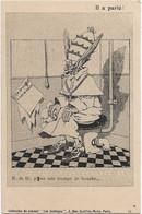 """""""Il A Parlé """" -- Caricature Satirique ,anti Cléricale - Collection  Journal """" Les Corbeaux """" - Satirische"""