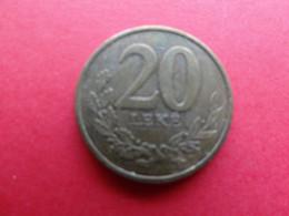 Albanie  20 Leke  2016  Km !!! - Albanien