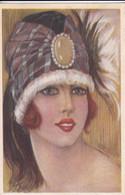 Illustrateur - FEMME - Style Art Déco - Série 491-4             (lot Pat 133) - 1900-1949