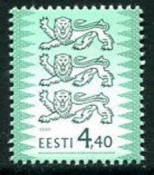 ESTONIA 2000 Arms Definitive 4.40 Kr.  MNH / **..  Michel 376 I - Estonia