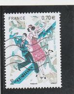 FRANCE 2016 LE CHARLESTON OBLITERE YT 5083 - - Used Stamps