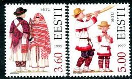 ESTONIA 1999 Regional Costumes MNH / **  Michel 354-55 - Estonia