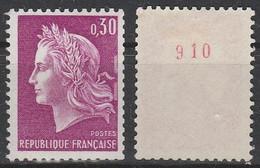 1536b** 30c LILAS MARIANNE CHEFFER - N° ROUGE Au Verso - Francobolli In Bobina