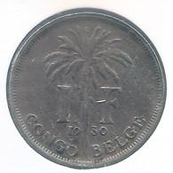 CONGO - ALBERT II * 1 Frank 1930 Fr * Z.Fraai * Nr 10150 - 1910-1934: Albert I