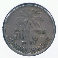 CONGO - ALBERT II * 50 Centiem 1922 Fr * Z.Fraai * Nr 10153 - 1910-1934: Albert I