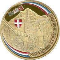 BONNEVAL-SUR-ARC – Le Village Et La Marmotte (couleur Or) / Souvenirs Et Patrimoine - Altri