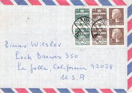 DENMARK - AIRMAIL 1980 > LA JOLLA/USA //G143 - Airmail