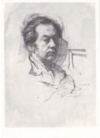 Pietro Annigoni Self Portrait Tate Gallery Painting Postcard - Pintura & Cuadros