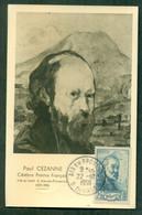 CM-Carte Maximum Card #France-1939 #(Yv. 421) Paul Cézanne, Peintre,Maler,painter # Obl. Aix-en-Provence 22.10.1959 - 1930-39