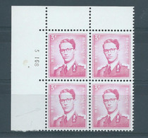 N° 1067  P3 ** EN BLOC DE 4 AVEC VARIETE V2 - Abarten (Katalog COB)