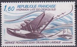France - PA 56 - Hydravion Late 300 - Croix Du Sud -  Mermoz - Pichodou- Ezan - Cruveilher - Lavidale - 1960-.... Mint/hinged