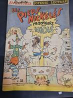 Les Pieds Nickelés Prisonniers Des Incas Avril 1959  +++BE+++ LIVRAISON GRATUITE+++ - Pieds Nickelés, Les