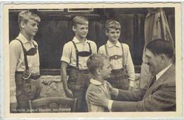 Deutsches Reich Propaganda - Deutsche Jugend Begrüßt Den FÜHRER - Photo Hoffmann München - Echte Fotografie - Guerra 1939-45
