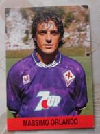 Massimo Orlando I # Fiorentina # Calcio - Cartoncino / Sponsor  7UP - Voetbal