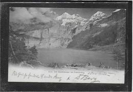 AK 0617  Der Oeschinensee Bei Kandersteg Um 1906 - BE Berne