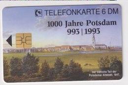 TK 30396 GERMANY - Chip O533B 12.93 2.500 DPR 1000 Jahre Potsdam MINT ! - O-Series : Series Clientes Excluidos Servicio De Colección