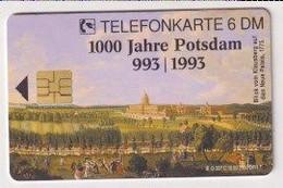 TK 30397 GERMANY - Chip O557C 10.93 2.500 DPR 1000 Jahre Potsdam MINT ! - O-Series : Series Clientes Excluidos Servicio De Colección