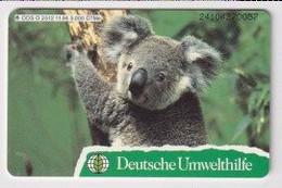 TK 30401 GERMANY - Chip O252 11.94 5.000 DTMe Deutsche Umwelthilfe - Koala MINT ! - O-Series : Series Clientes Excluidos Servicio De Colección