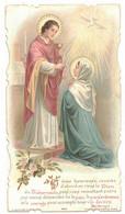 HERAULT QUARANTE SOUVENIR JEANNE PETIT EN 1906 Ô ÂME HEUREUSE IMAGE PIEUSE RELIGIEUSE HOLY CARD SANTINI PRENTJE - Devotion Images