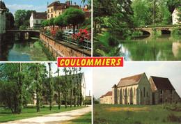 77 Coulommiers Pont Sur La Ville Parc Des Capucins La Commanderie CPM - Coulommiers