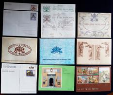 Vaticano 1981/2009 Cartoline Postali - Collezione Completa /Postal Cards Complete Collection VF - Maximum Cards
