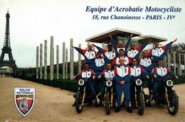 Police Nationale - Equipe D'Acrobatie Motocycliste - Paris Tour Eiffel - Polizei - Gendarmerie