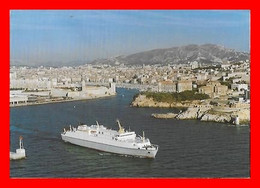 "CPSM/gf BATEAUX. ""SANTA REGINA"" De La Compagnie Méridionale De Navigation...M117 - Piroscafi"