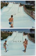 Snapshot Couleur 80s Toboggan Picine Water Splash Parc Enfant Kid Boy Garçon Teen Maillot Swimsuit été Summer Vacances - Personnes Anonymes