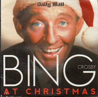 BING CROSBY AT CHRISTMAS [DAILY MAIL PROMOTIONAL PROMO CD] GOOD CONDITION XMAS SONGS MUSIC CAROLS - Canzoni Di Natale