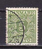 Denmark, 1934, Numeral & Posthorns, 5ø, USED - Port Dû (Taxe)