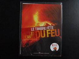 FV - Collector  - Les Géants Du Feu - Volcans  - 10 TVP Lettre Prio - Collectors