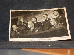 Militaria Eisenhower,Montgomery,Bradley,Ramsay Etc.__(6685) - Personajes