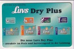 TK 30430 GERMANY - Chip O2464 12.95 5000 DTMe Luvs Dry Plus  MINT! - O-Series : Series Clientes Excluidos Servicio De Colección