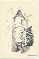 NANTES (44.Loire Atlantique) Rue Fénelon. Illustration De Yves Gaudronneau - Nantes
