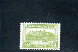 HONGRIE 1928-31 * FILIGRANE F - Unused Stamps