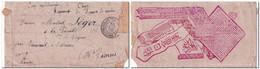 Lettre Corps Expéditionnaire Chine - Régiment Zouaves De Marche Oblitérée 20/10/00 Trésor & Postes Texte Sur 2 Pages R/V - Cartas